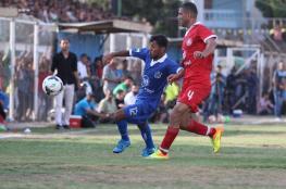9 مباريات في دوري غزة اليوم