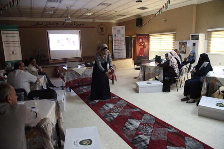 غزة: برنامج تدريبي لأولياء الأمور على الاستعداد للكوارث