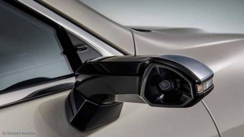 أول سيارة تستبدل مرايا الجانب بكاميرات