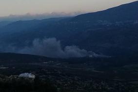 طائرات الاحتلال تقصف مركزاً للبحوث في حماة بسوريا