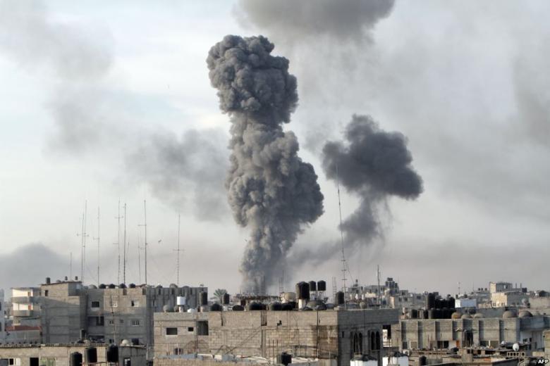 غارات جديدة على غزة والمقاومة تستمر بإطلاق الصواريخ