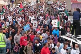 مسيرات منددة بحظر الحركة الإسلامية بأم الفحم