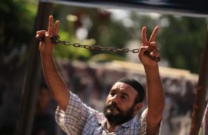 مهرجان تأبيني للشهيد الأسير بسام السايح بغزة