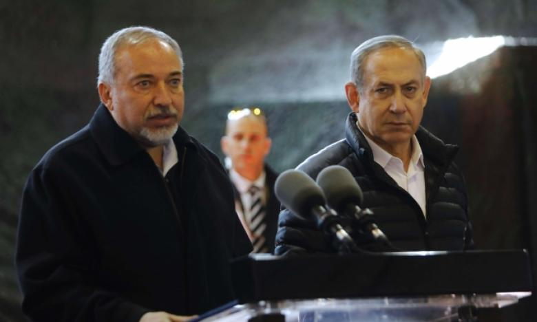 نتنياهو وليبرمان ينهيان مشاورات بشأن غزة