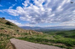 واد الفران و وواد القاعود في الأغوار الشمالية على الحدود مع الأردن