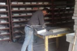 الحجر الصناعي.. منافس يثبت فاعليته في الشارع الفلسطيني