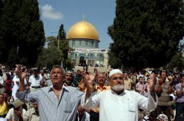 198 مواطناً يغادرون غزة للصلاة بالأقصى