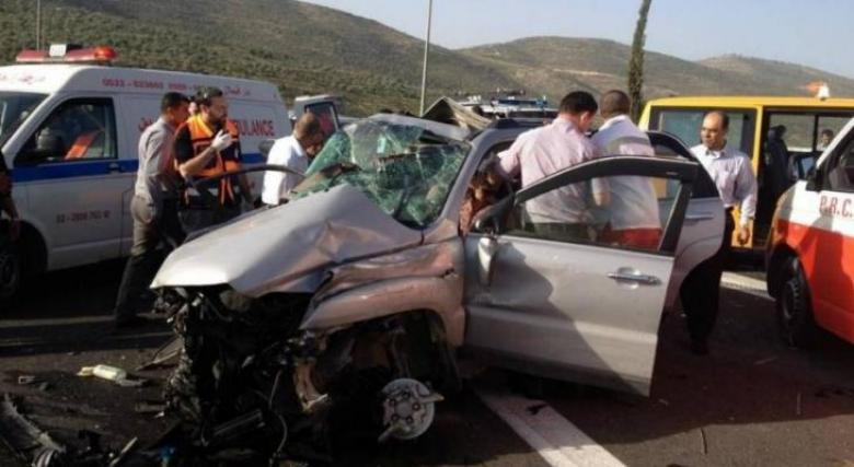 5 إصابات بينهما خطيرة في حادث سير جنوب بيت لحم