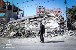 طائرات الاحتلال تُسوي مبنى شركة الملتزم بالأرض
