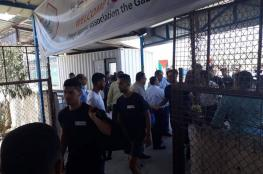 وصول بعثة هلال القدس لقطاع غزة