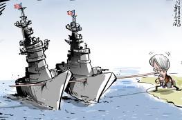 """إرسال حاملة طائرات أمريكية إلى شواطئ إيران """"تهويش من عيار ثقيل"""""""
