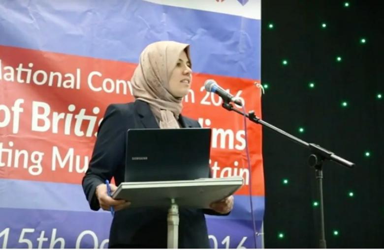 امرأة ترأس منظمة إسلامية كبيرة في بريطانيا