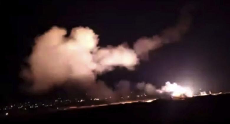 سوريا تتصدى مجددا لأجسام معادية في سماء القنيطرة