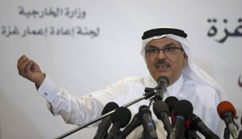 العمادي يوضح ما جاء في تصريحاته خلال المؤتمر ويغادر القطاع