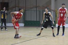 تأجيل مباريات دوري كرة السلة في غزة