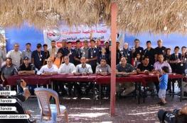 """اتحاد التريثلون ينظم سباقات """"الرياضة والعائلة أسلوب حياة """" بغزة"""