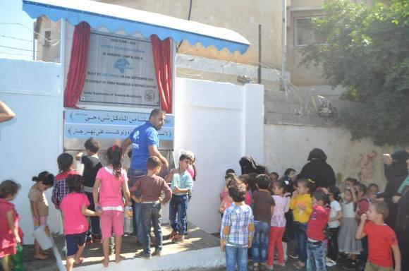 بلدية النصيرات تفتتح محطة تحلية للمياه