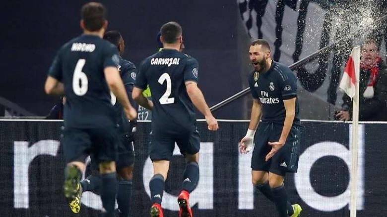 ريال مدريد يفوز بشق الأنفس على أياكس