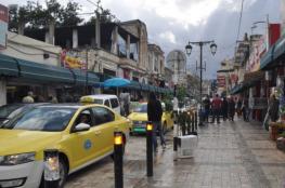 بلدية جنين تبدأ بإزالة التعديات على شوارع المدينة