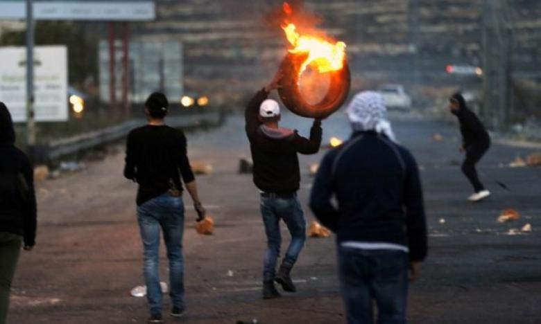 إصابات في مواجهات مع الاحتلال بالضفة وغزة