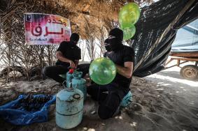 البالونات الحارقة تعود للخدمة من جديد