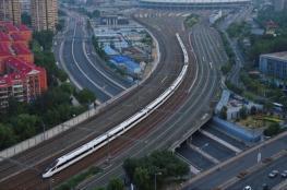 الصين تطلق أسرع قطار بالعالم بسرعة 350 كلم/س