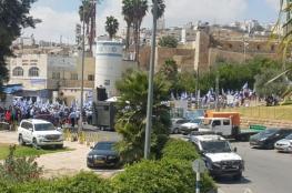 """مسيرة للمستوطنين قرب """"الإبراهيمي"""" بالخليل"""