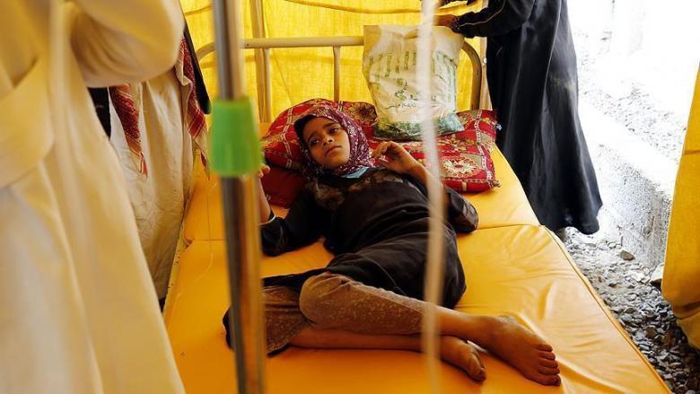الصحة العالمية: ارتفاع ضحايا الكوليرا في اليمن إلى 1100