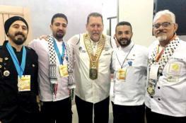 ميدالية ذهبية لفلسطين في مسابقة عالمية للطهي