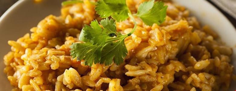 الأرز بالكاري