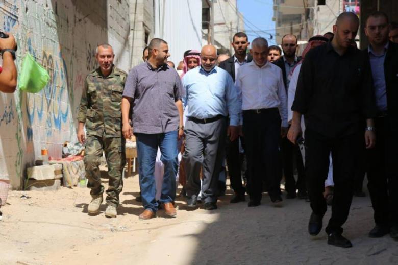 حماس تدشن أكبر حملة زيارات في قطاع غزة