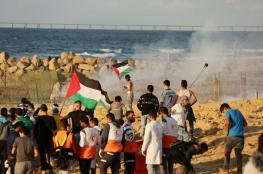 الآلاف يشاركون في الحراك البحري شمال القطاع