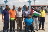 بعثة فلسطين البارالمبية تغادر غزة إلى البرازيل