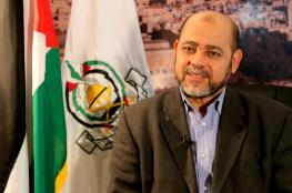 """أبو مرزوق: لقاء وفد """"حماس"""" بالمخابرات المصرية يعد الأكثر أهمية والأشمل"""