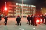مقتل شرطي في اشتباكات بين مشجعي اتليتيك بيلباو وسبارتاك موسكو