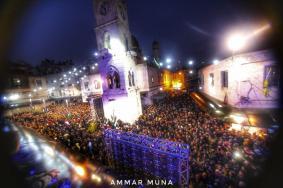 """الآلاف يشاركون في""""الفجر العظيم"""" بالضفة والقدس"""