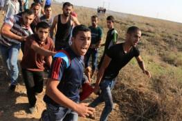 8 إصابات في مواجهات مع الاحتلال شرق القطاع