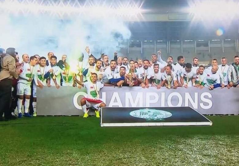 الرجاء المغربي يفوز بكأس الكونفيدرالية الأفريقية