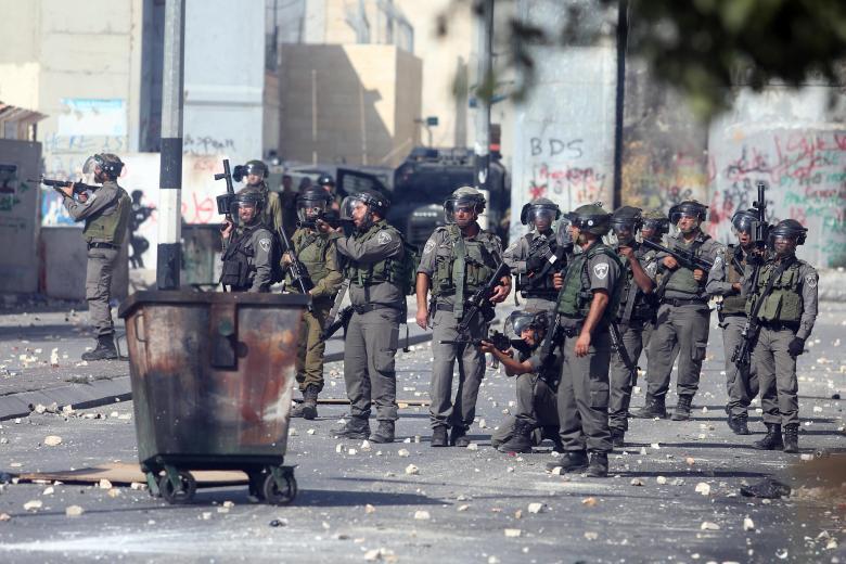 مواجهات باقتحام الاحتلال لمواجهات لبلدة نعلين