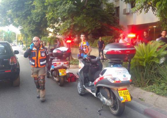"""إصابة جندي بعملية طعن في """"تل أبيب"""""""