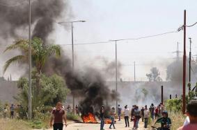 إصابات في مواجهات مع الاحتلال بالضفة المحتلة