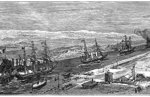 صور تاريخية نادرة لبدء أعمال حفر قناة السويس
