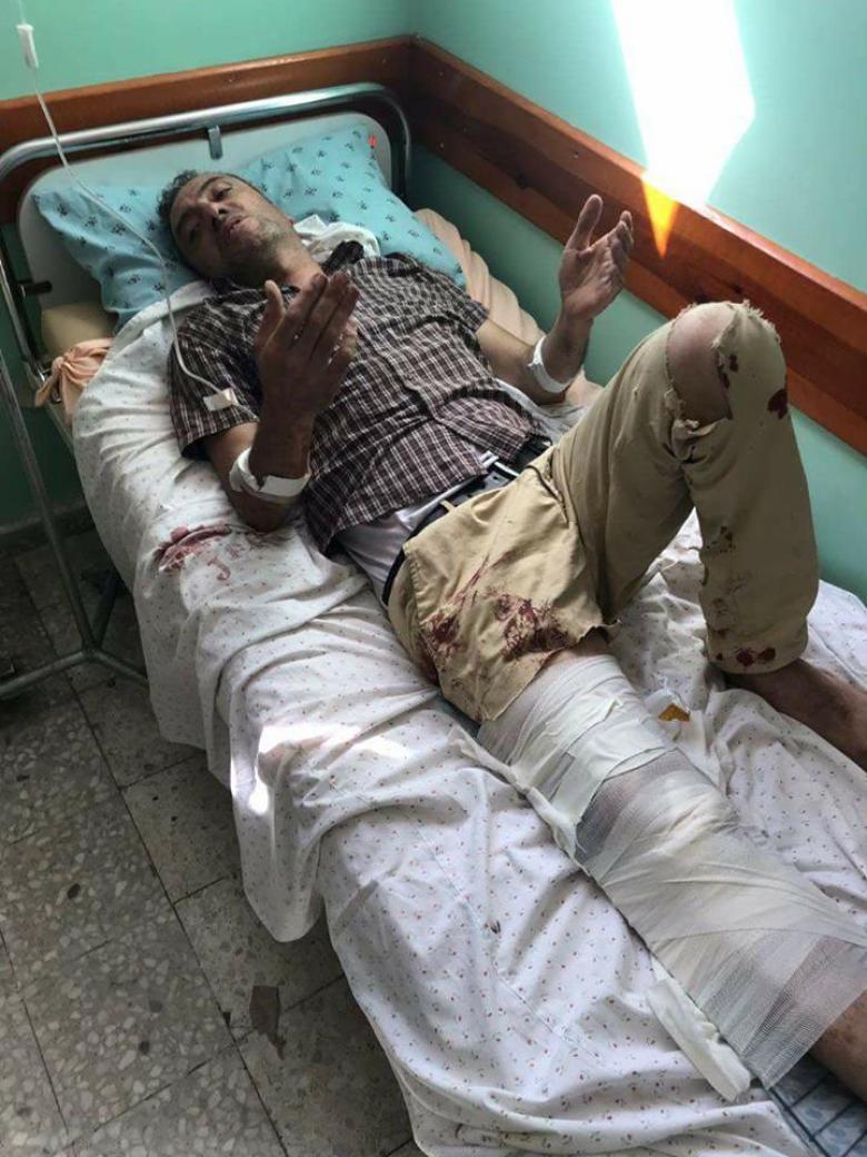 نقل الصحفي محمد البابا من غزة إلى الداخل المحتل