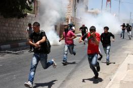 إصابات بالاختناق خلال مواجهات الاحتلال في سبسطية