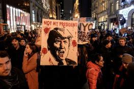 انطلاق أسبوع احتجاجات ضد ترمب بواشنطن