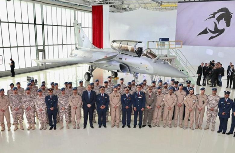هذا الاسم الذي أطلقته قطر على طائراتها المقاتلة