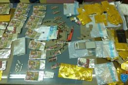 الشرطة تضبط نصف كغم من المواد المخدرة في الخليل
