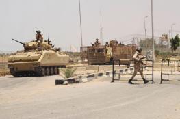 مقتل 7 مصريين في انفجار عربة مفخخة بالعريش