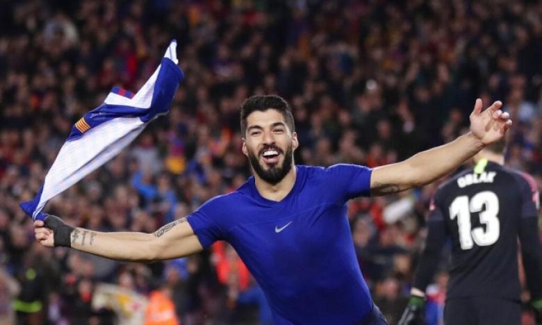سواريز يوجه رسالة لإدارة نادي برشلونة