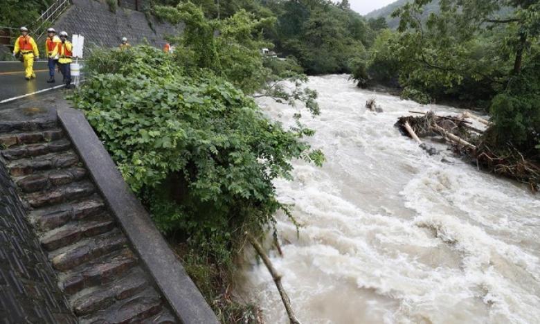 ارتفاع حصيلة ضحايا الأمطار الغزيرة في اليابان إلى 179 قتيلًا